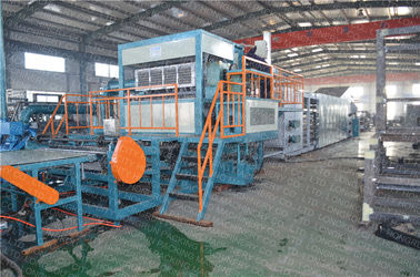 Automatic Recycled Pulp Paper Pulp Molding Machine 6000 Pcs/Hr Capacity